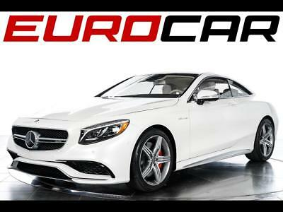 2015 Mercedes-Benz S-Class S63 AMG Coupe 2015 Mercedes-Benz S63 AMG Coupe - $175,060.00Original MSRP, WHITE ON WHITE