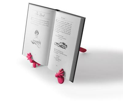 The Hands Stand - Portable Book/Tablet Holder (Coral)