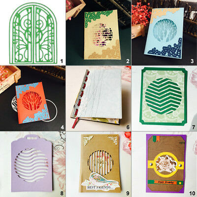 Card Window DIY Cutting Dies Metal Stencil Scrapbooking Album Paper Embossing