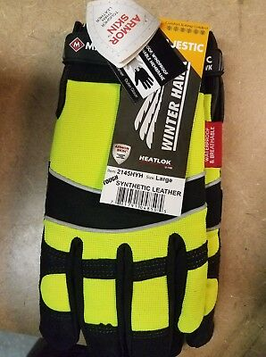 Majestic 2145HYH Winter Hawk ArmorSkin™ Insulated Gloves, Size: Large