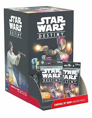 Star Wars Destiny Empire at War Booster Pack Display 36 Packs Brand New Sealed