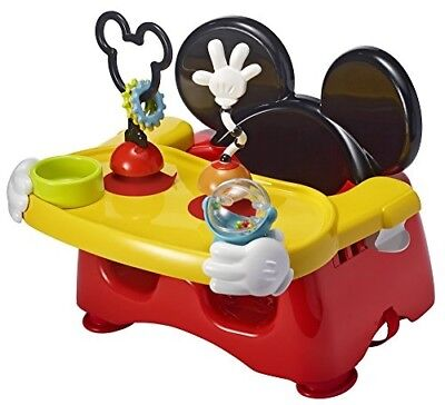 OPENED BOX Disney Baby Helping Hands Feeding Activity Seat, Mickey Mouse