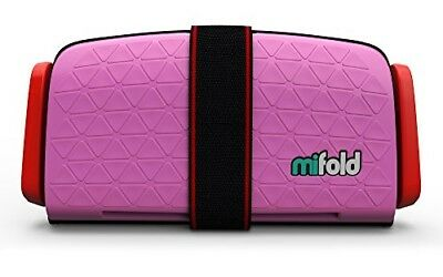 OPENED BOX mifold Grab-and-Go Car Booster Seat, Perfect Pink