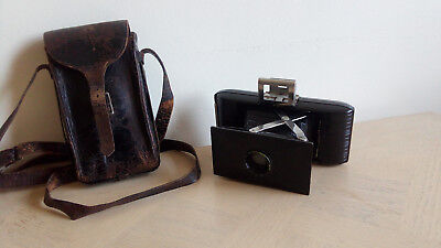 Kodak Eastman Jiffy Camera 127 with Leather Case