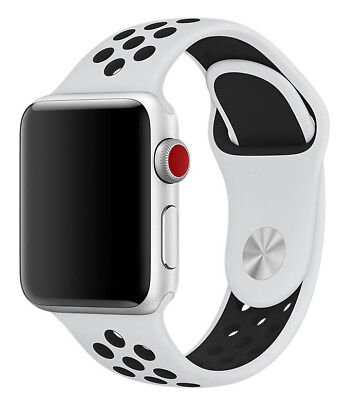 REPLACEMENT SILICONE NIKE SPORT BAND STRAP For 42MM Apple Watch All Series