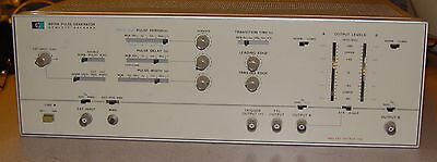 Hewlett Packard HP 8015A Pulse Generator