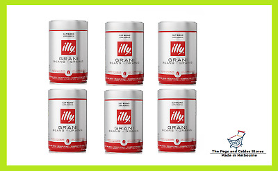 illy Coffee Whole Beans 250g x 6 tins