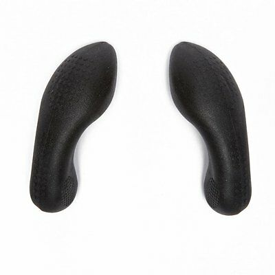 Claud Butler Soft Cycling Rubber Handlebar Bar Ends Lock On Stubby Grips Comfort
