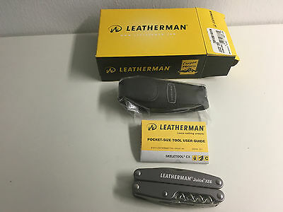 Leatherman Juice XE6 incl. Lederholster - Storm Grey - in a Box