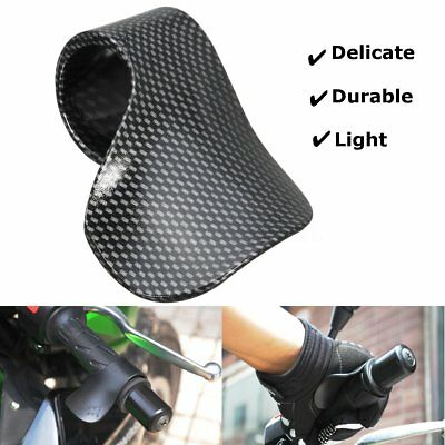 Motorcycle Cruise Control Carbon Aid Throttle Thumb/Wrist/Cramp Grips Motorbike