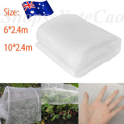 10*2.4m Insect Netting Garden Veg Mesh Orchard Net Crop Veg Plant Protect Cover