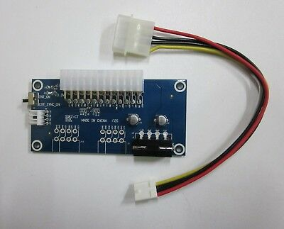 Dual ATX Power Supply Synchronous Starter Controller Board