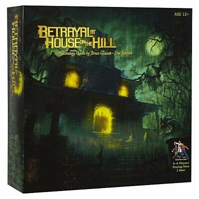 Betrayal at House on the Hill - Board Game - Brand New - FREE FAST SHIPPING