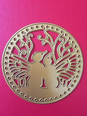 Reduced• FAIRY FRIENDS CIRCLE DIE For Use With Cuttlebug Or Sizzix