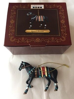 Trail Of The Painted Ponies SQUASH BLOSSOM Christmas Ornament New in Box