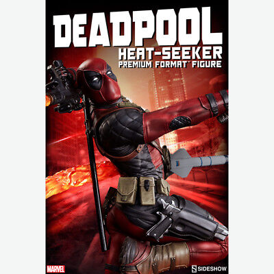 SIDESHOW Marvel Deadpool Heat-Seeker Premium Format Figure Statue NEW SEALED