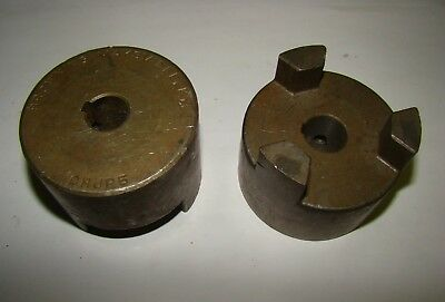 "2 pc. Browning CHJP5x5/8"" Couplings, Used"