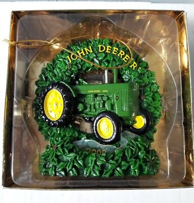 2008 John Deere R Christmas Ornament / Stand Ertl Spec Cast