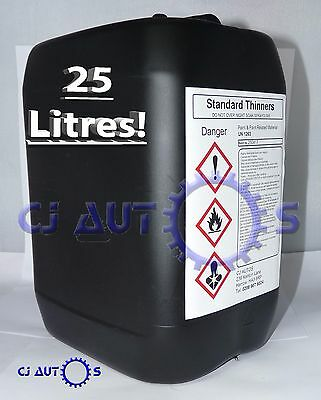 25L LITRES Standard Thinners Spray Gun Wash Part Cleaner Cellulose Paint Thinner