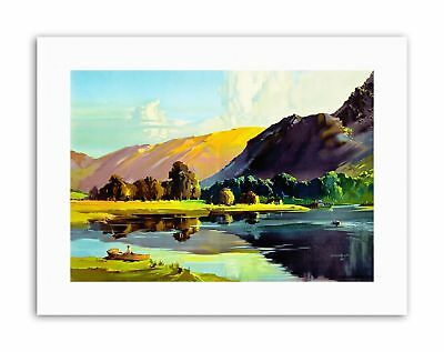 LAKE DISTRICT CUMBRIA ENGLAND SCENIC Painting Canvas art Prints