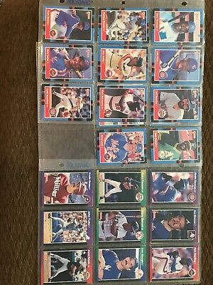 Baseball Cards Different Year's