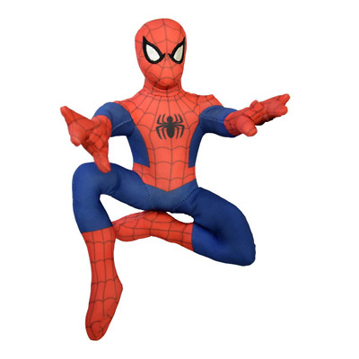 Peluche Spiderman Action Marvel Pupazzo In Posa Azione Cm. 25 - Mpdp1602004