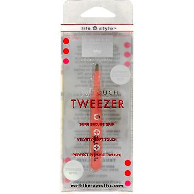 Earth Therapeutics Softouch Tweezer Pink - 1 Unit 2 Pack