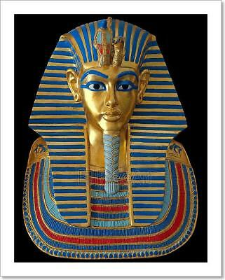 Ancient Gold Mask Of The Egyptian Art Print Home Decor Wall Art Poster - C