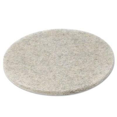 "Boardwalk Natural Hair Extra High-Speed Floor Pads, 20"" Diameter, Case of 5"