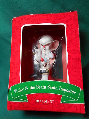 Warner Brothers Pinky & The Brain Santa Imposter Ornament