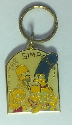 1990 The Simpsons Keychain