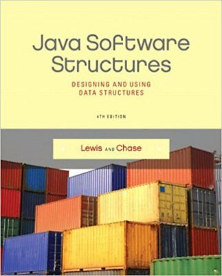 Java Software Structures 4e Global Edition