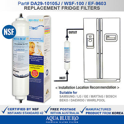 Westinghouse  Fridge Water Filter for WSE6970SA, WSE6970SF, WSE6970WA WSE6970WE,