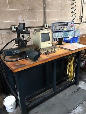 Servo Products  4 Axis Mill with Rotary Table Model 7501 with Bench