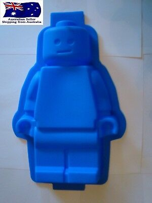 XL LARGE Lego Man SIlicone Mould Baking Party Chocolate Jelly Cake Mold
