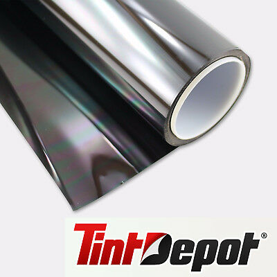 """4 Roll Pack Non-Reflective 5%, 20% 35% 50% Auto Tint Film 30"""" x 100ft"""