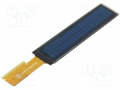 1 pcs Display: OLED; 20x2; Window dimensions:75.5x13.5mm; yellow