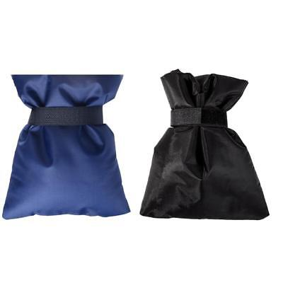 2x Spigot Faucet Covers Insulated Pouch for Outdoor Faucet Set Blue + Black