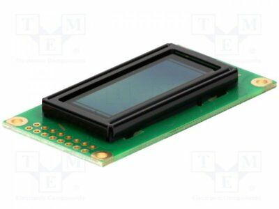1 pcs Display: OLED; alphanumeric; 8x2; Window dimensions:38x16mm