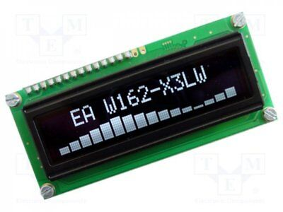 1 pcs Display: OLED; alphanumeric; 16x2; Window dimensions:66x16mm