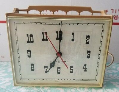 Vintage General Electric Kitchen Wall Clock Model 2132 Tested And Working 14 42 Picclick Uk
