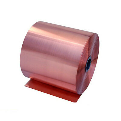 1pc 99.9% Pure Copper Cu Metal Sheet Foil 20x10x0.1cm For Handicraft Aerospace