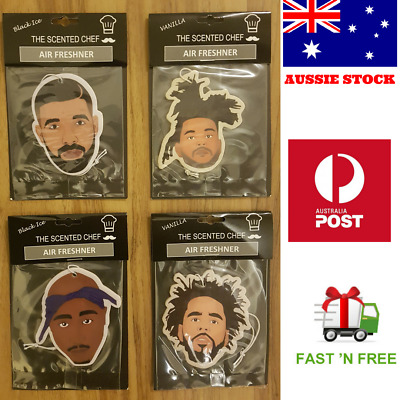 NEW Car Air Fresheners! Rappers Edition, Tupac, Drake, J Cole and the Weeknd