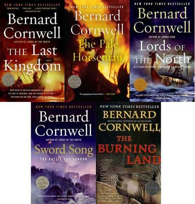 SAXON CHRONICLES Historical Fiction Series by Bernard Cornwell PAPERBACKS 1-5