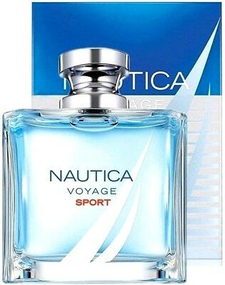 Nautica Voyage Sport Cologne Perfume For Men 3.4 oz Edt Spray NEW IN BOX SEALED