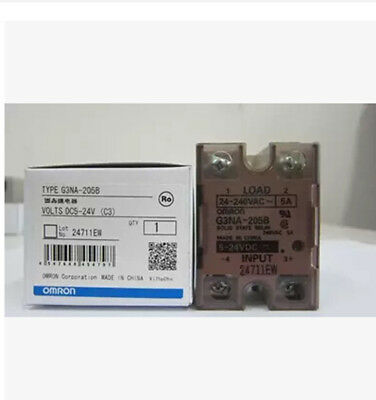 1pc NEW IN BOX Omron Solid State Relay G3NA-205B