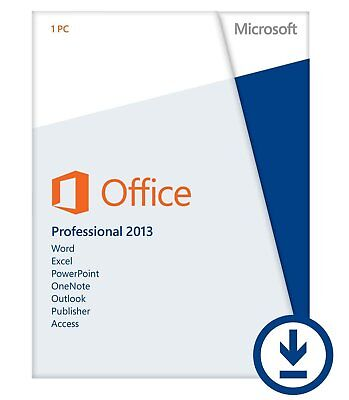 Microsoft Office 2013 Home and Business - AUSTRALIAN SELLER - FREE PRO UPGRADE!!