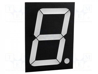 1 pcs Display: LED; 7-segment; 101.2mm; red; 18-44mcd; anode; No.char:1