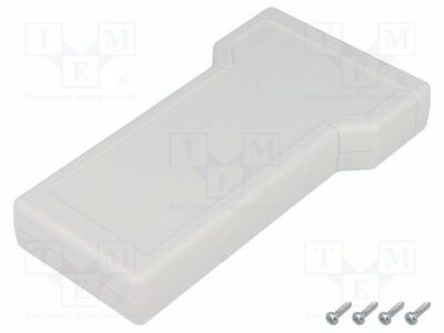 1 pcs Enclosure: for devices with displays; X:88mm; Y:163mm; Z:25mm