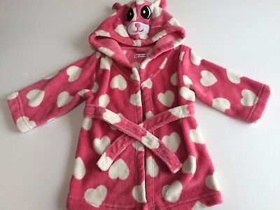 Baby Girl's Dressing Gown (Ladybird) 12-18 Months